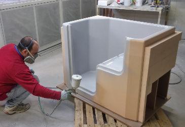 Docce e vasche da bagno con sportello per disabili ed anziani - Produzione vasche da bagno ...