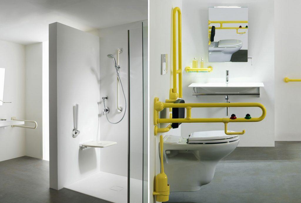 Docce per anziani e disabili sostituzione vasca in doccia - Allestimento bagno ...