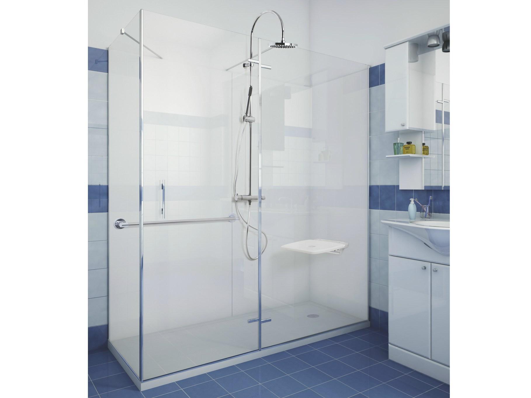 Sgabello Per Vasca Da Bagno Prezzi : Docce per anziani e disabili sostituzione vasca in doccia