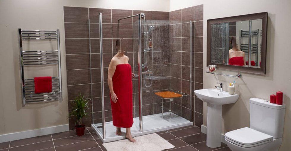 Docce per anziani e disabili sostituzione vasca in doccia for Doccia aperta