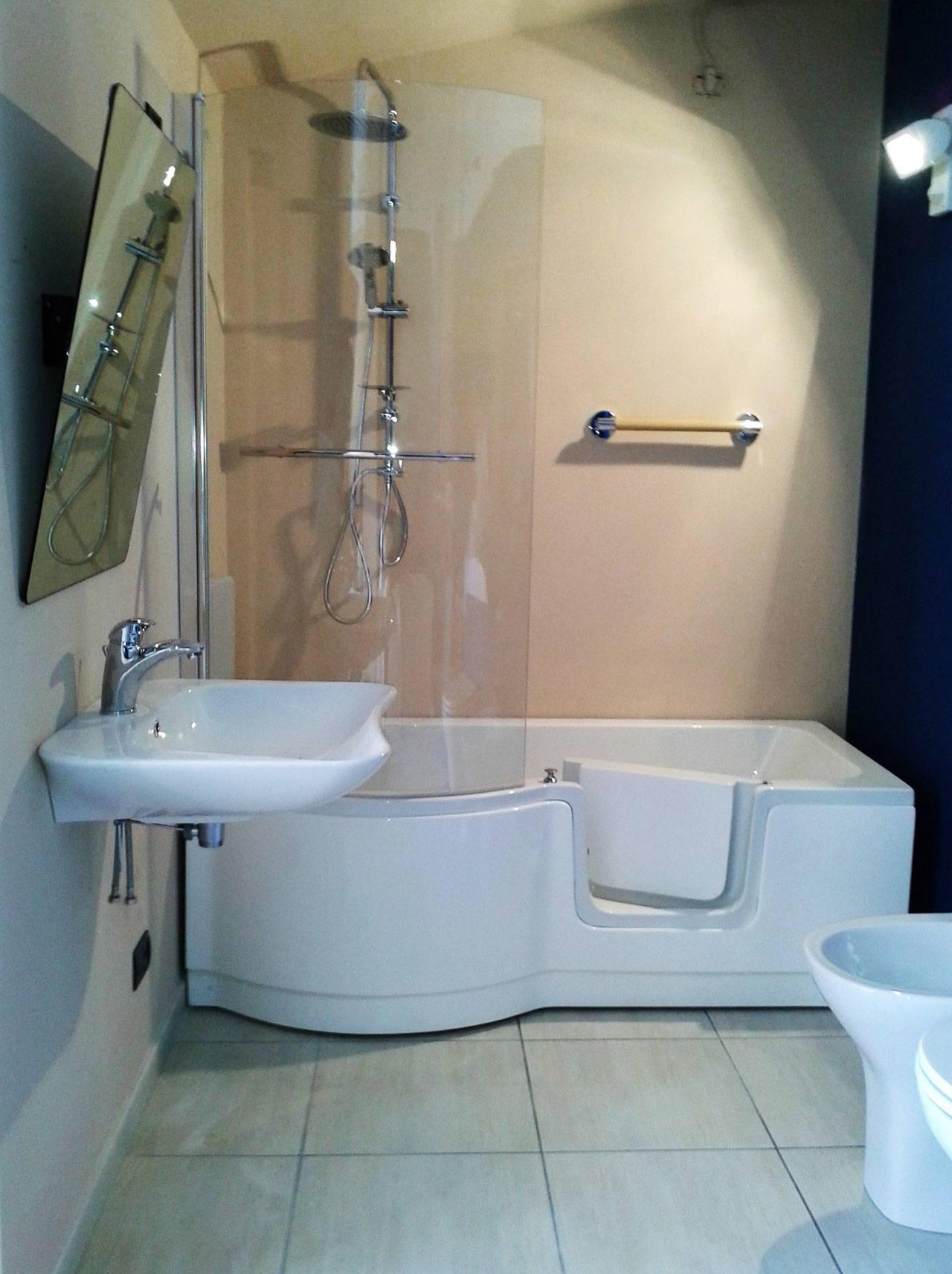Vasca doccia con sportello torino   bagnosereno.it