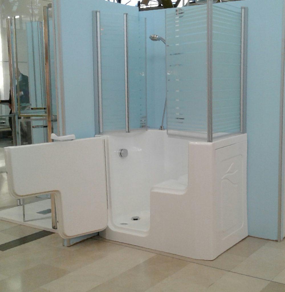 Affordable stunning vasca con porta serena small la with vasca piccola con doccia with vasca con - Vasca da bagno con doccia incorporata ...