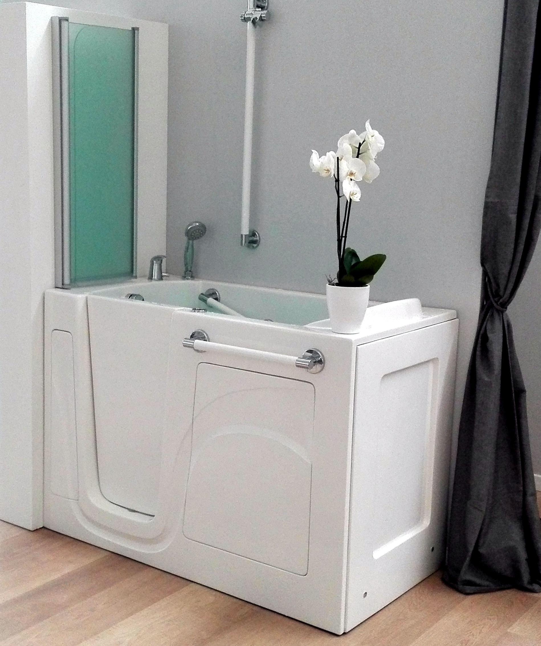 Docce per anziani e disabili sostituzione vasca in doccia for Accessori bagno disabili