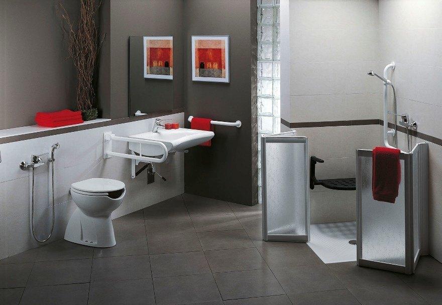 Docce per anziani e disabili sostituzione vasca in doccia - Arredo bagno per disabili ...