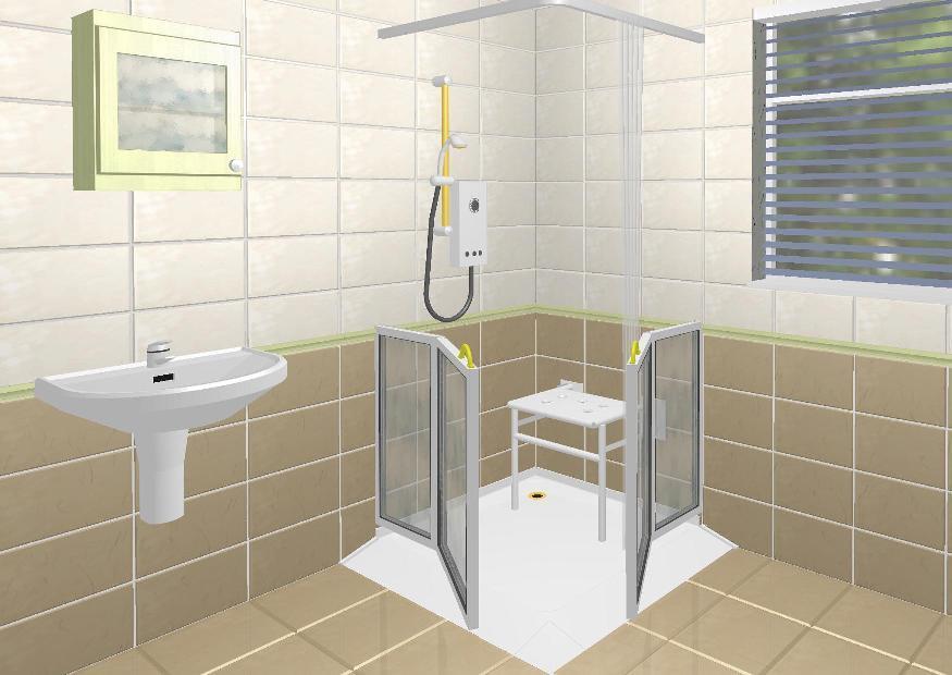 Doccia Con Seduta Per Anziani: Foto vasca doccia con sportello e seduta elevabile marea di.