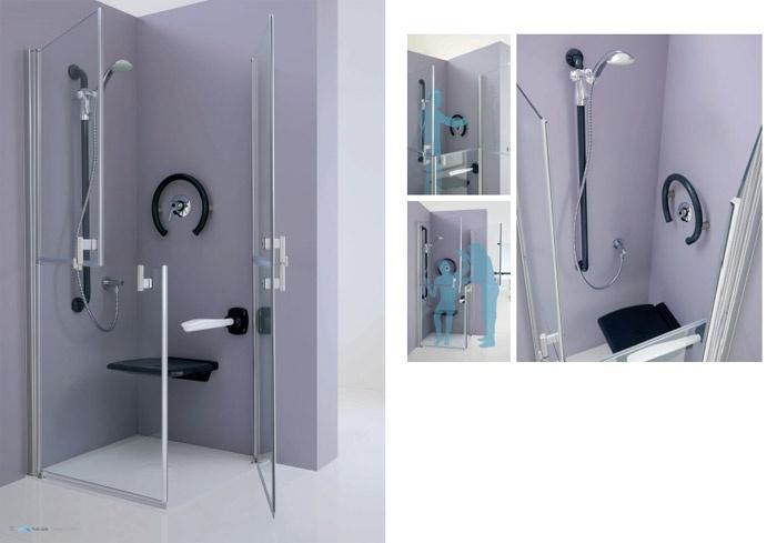 Vasca Da Bagno Handicappati : Docce per anziani e disabili sostituzione vasca in doccia