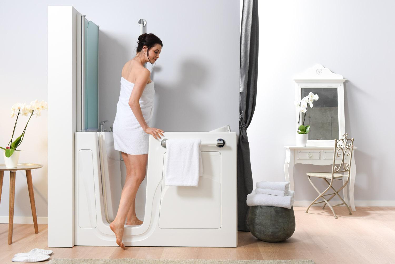 Vasca Da Bagno Apertura Laterale Prezzi : Vasto assortimento di docce e vasche da bagno con sportello