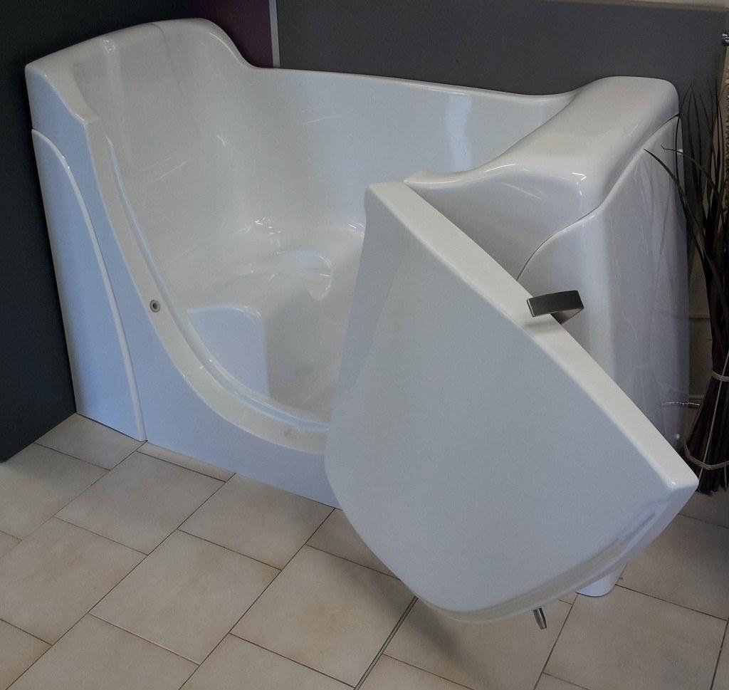 Vasca con porta serena - Vasca bagno assistito ...