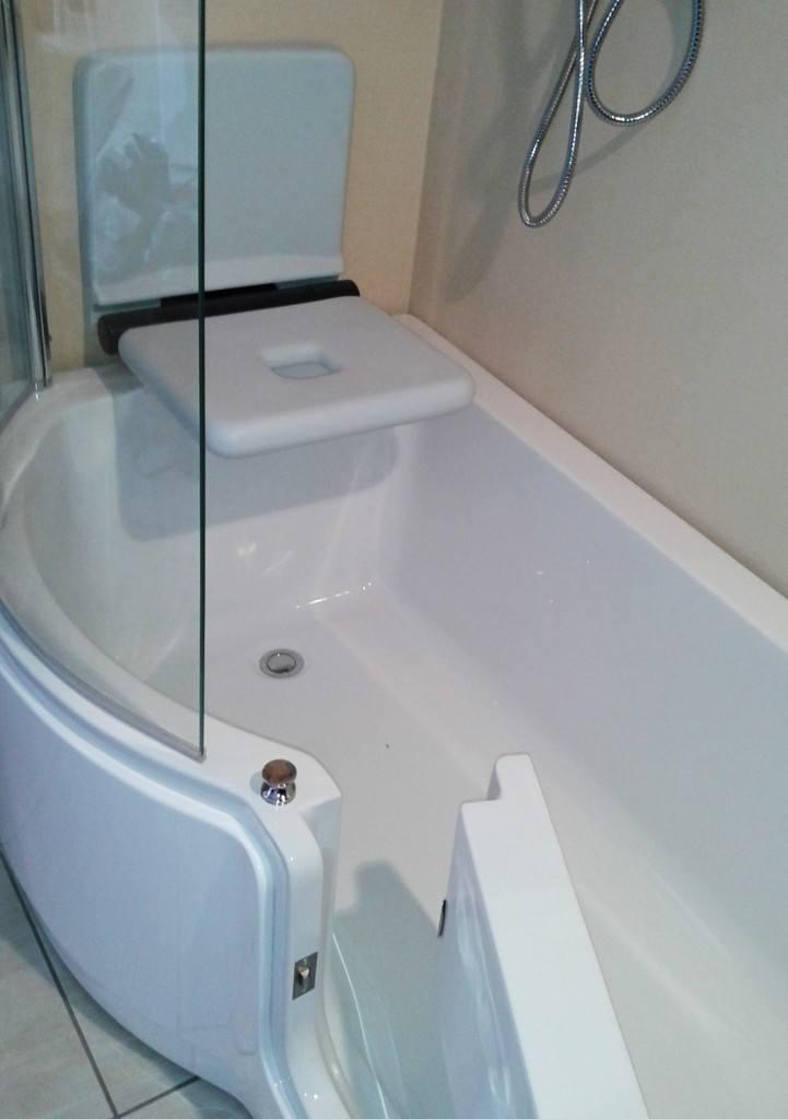 Vasca doccia con sportello torino - Vasca bagno assistito ...